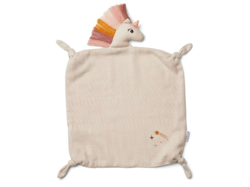 Agnete Cuddle Cloth Unicorn Sandy
