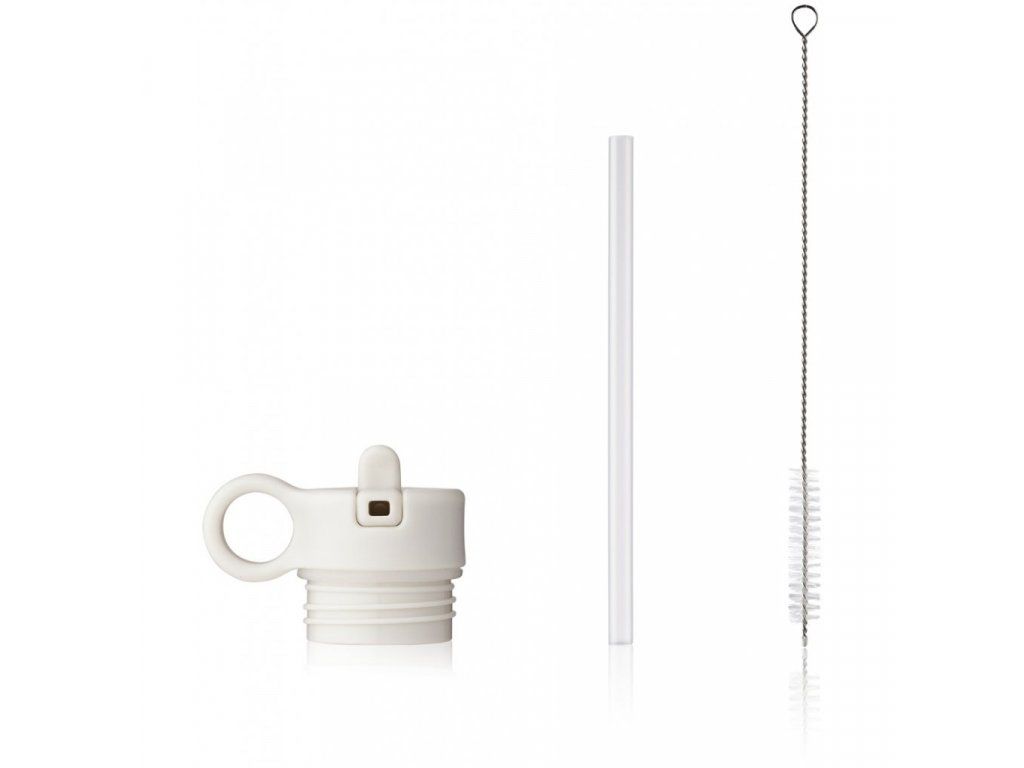 Anker Lid with straw and brush Spare parts LW14184 9406 Creme