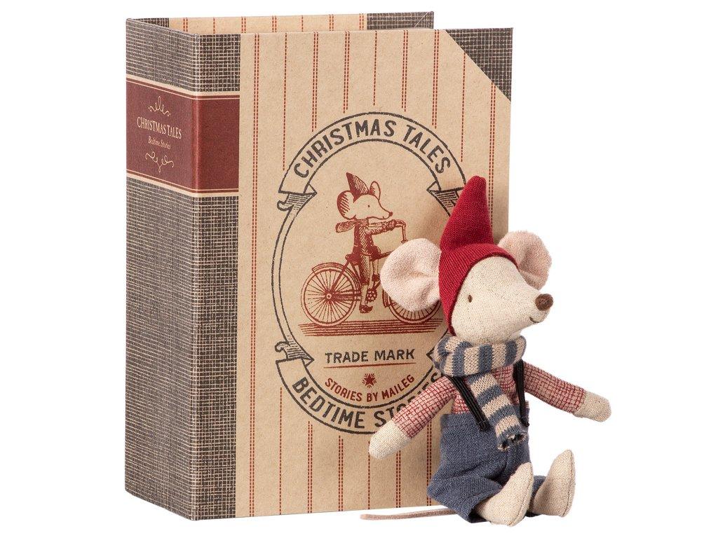 Vánoční myška v knížce - Velký bráška