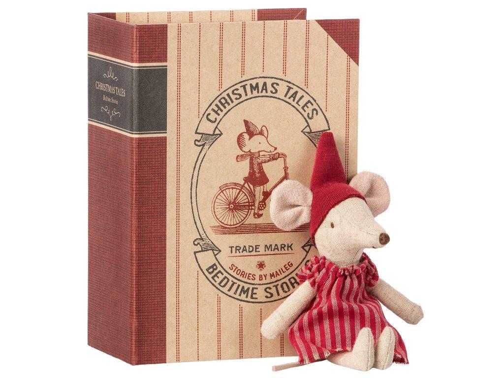 Vánoční myška v knížce - Velká sestřička