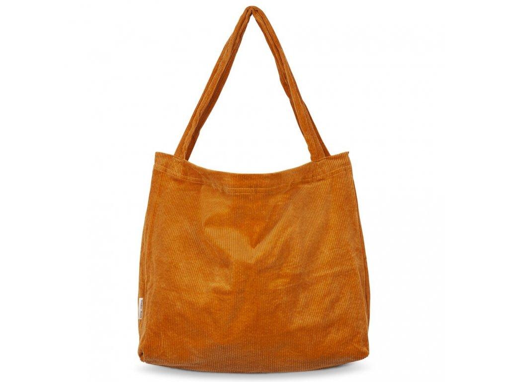 Přebalovací taška Rib - oranžová