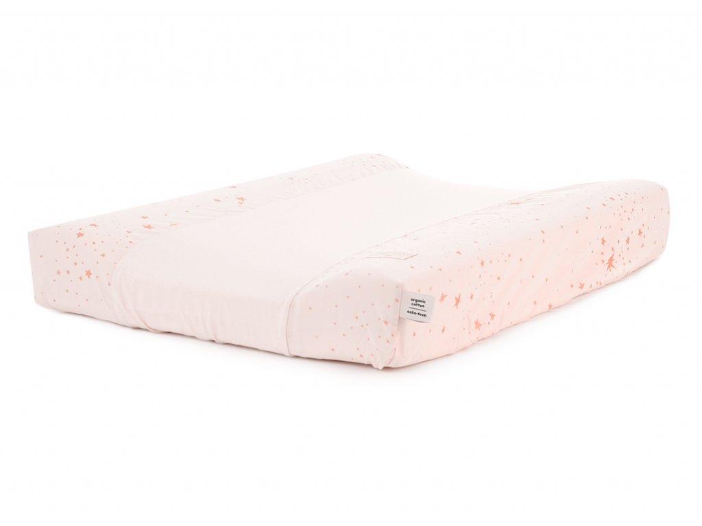 Calma changing mat cover housse de matelas a langer funda de colchón cambiador gold stella dream pink nobodinoz 1 2000000098166