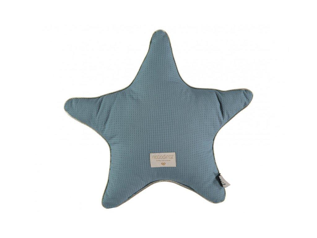 aristote star cushion coussin etoile cojin estrella magic green honeycomb nobodinoz 1
