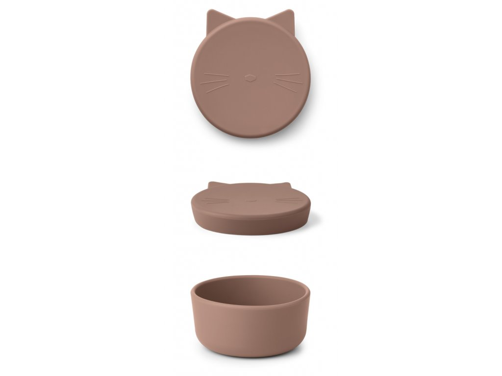 CORNELIUS SNACK BOX CAT DARK ROSE STACK