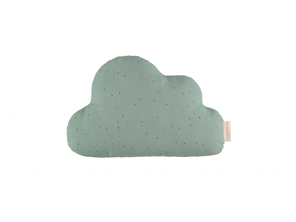cloud cushion cojin coussin toffee sweet dots eden green nobodinoz 1