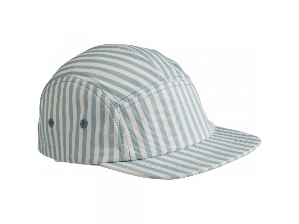 LW12841 0936 Stripe Sea blue white Main
