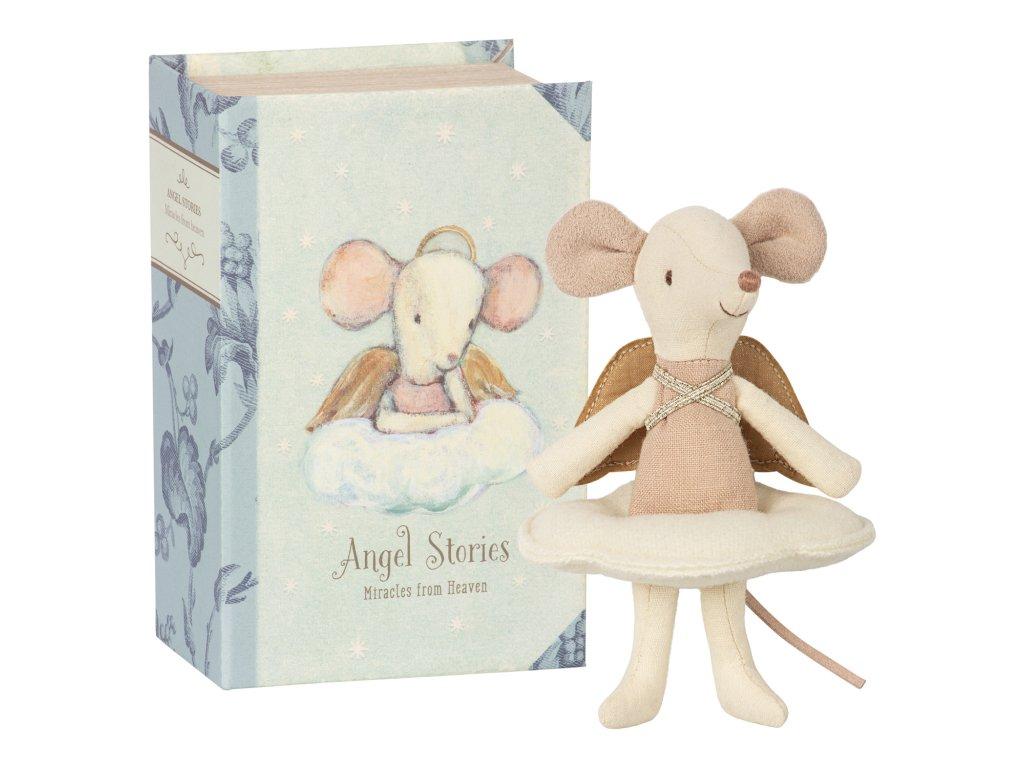 Myška anděl v knížce