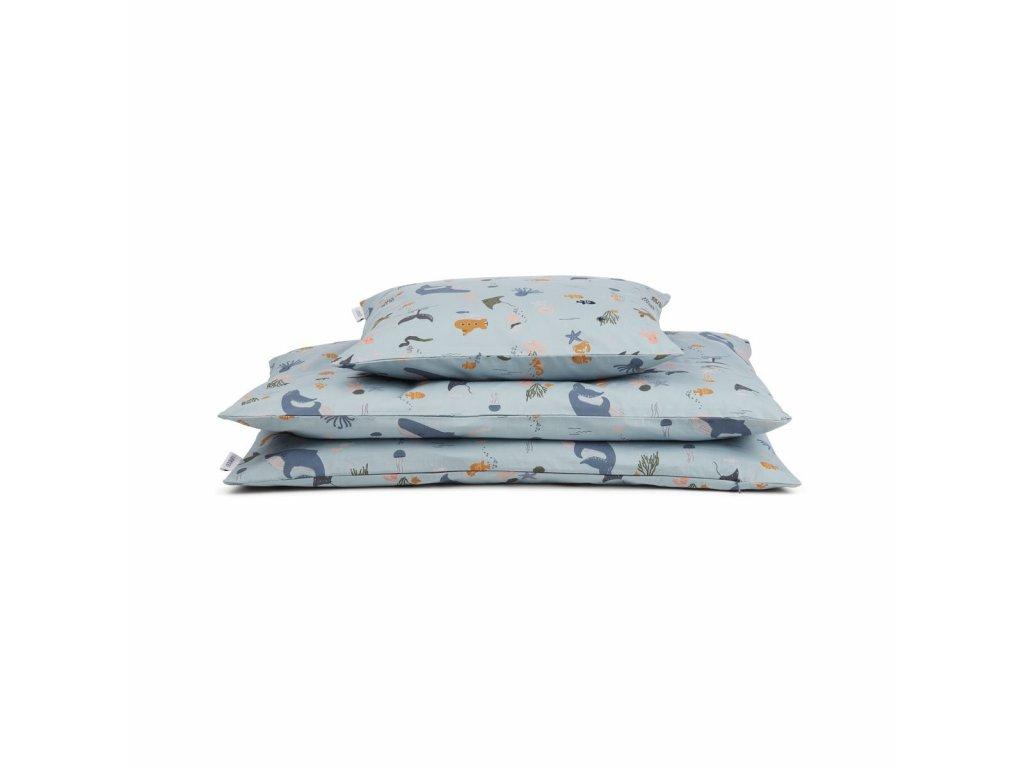 Carmen Bed Linen Baby Bedding LW12345 6910 Sea creature mix 1