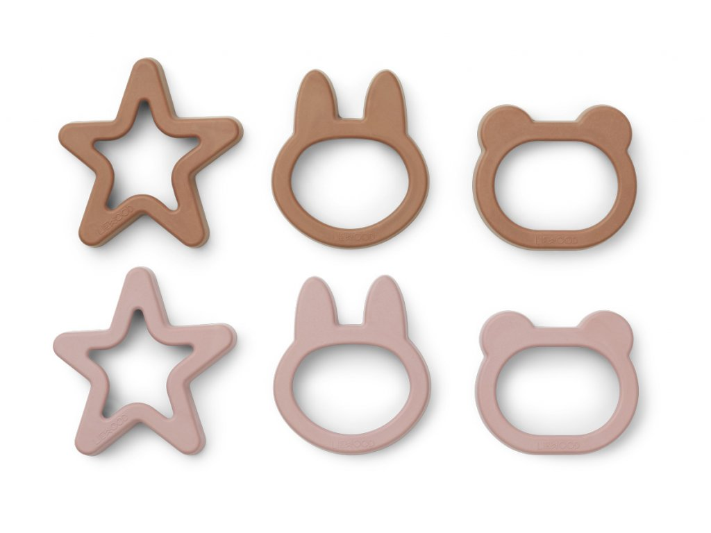 ANDY COOKIE CUTTER 6 PCS ROSE MIX 4.20