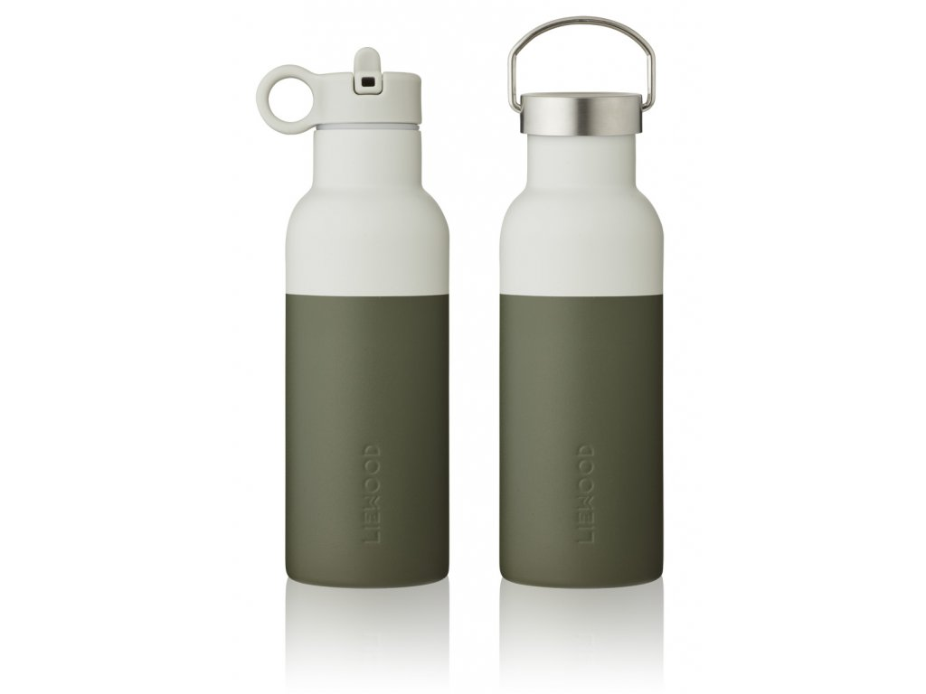 NEO WATER BOTTLE HUNTER GREEN DOVE BLUE MIX 1