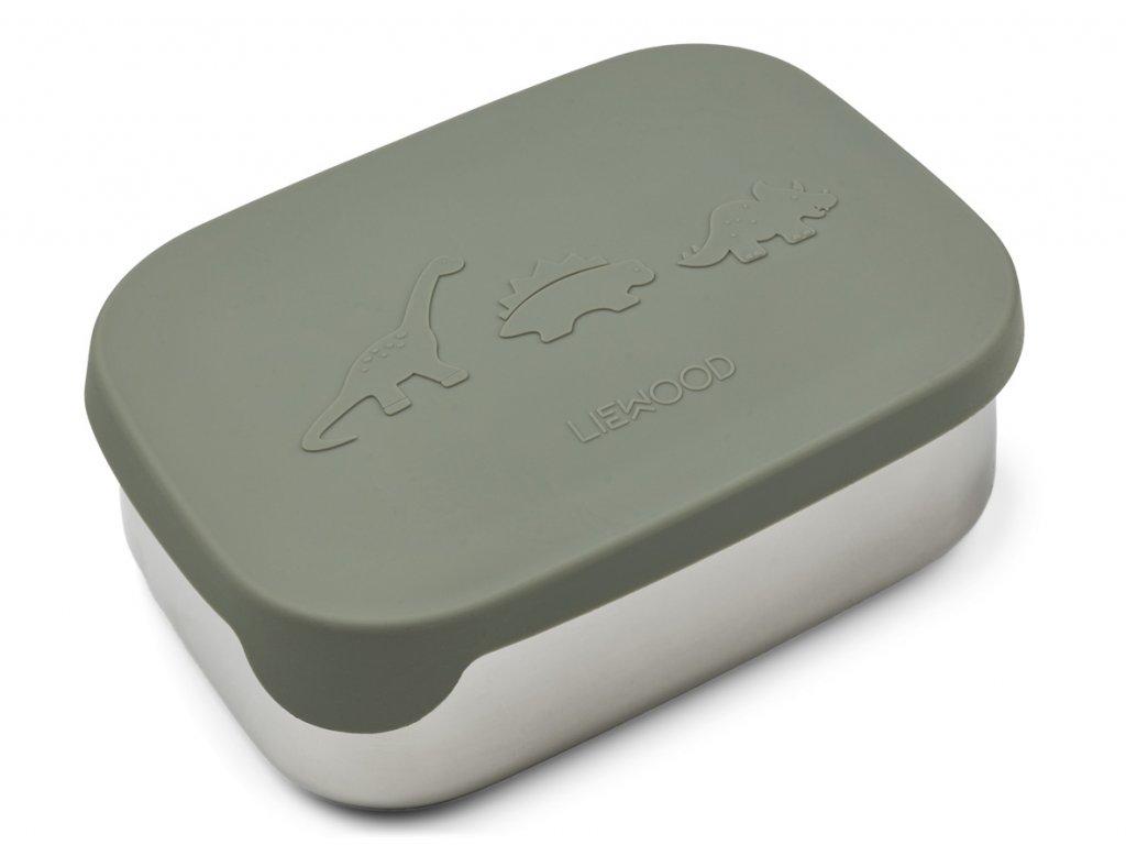 LW12981 Arthur lunchbox 0245 Dino faune green Extra 0