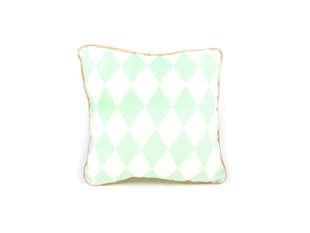 cushion joe cojin coussin green diamonds nobodinoz 1