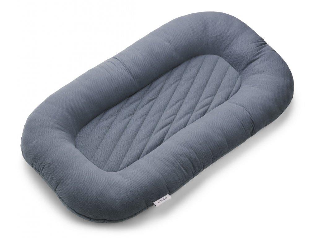 Edward baby mattress LW14217 7366 Blue wave 2 21 Front