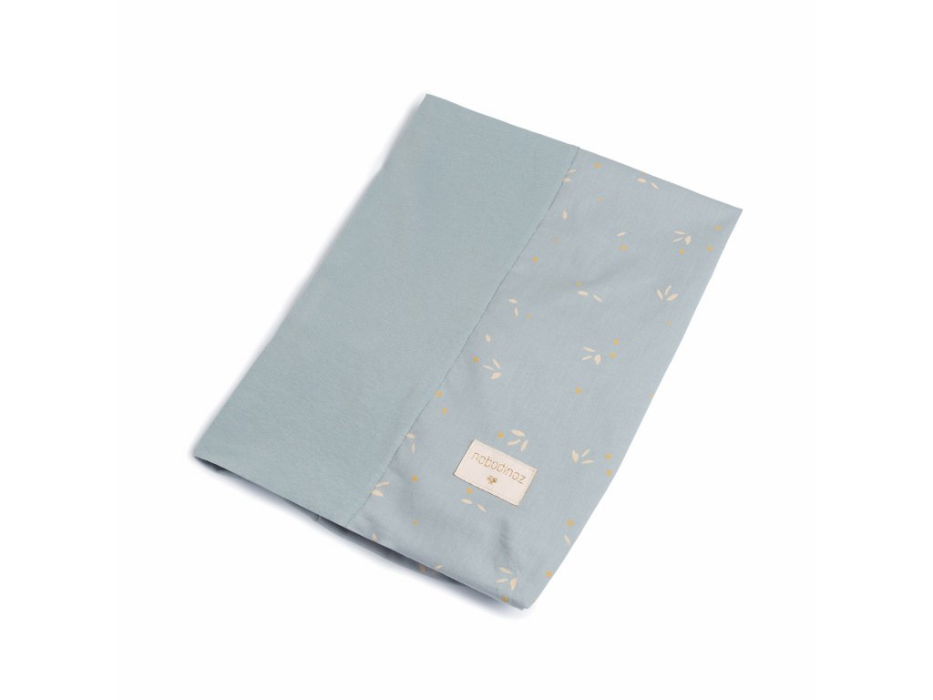 Calma changing mat and cover willow soft blue nobodinoz 4 8435574919519