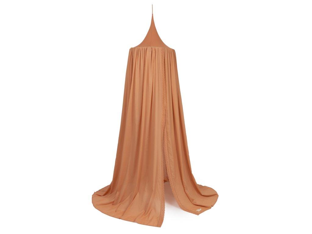 Vera eyelet canopy sienna brown nobodinoz 1 8435574920324