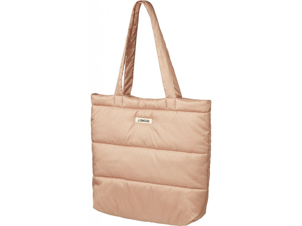 LW14338 Constance quilted tote bag 2074 Tuscany rose Main