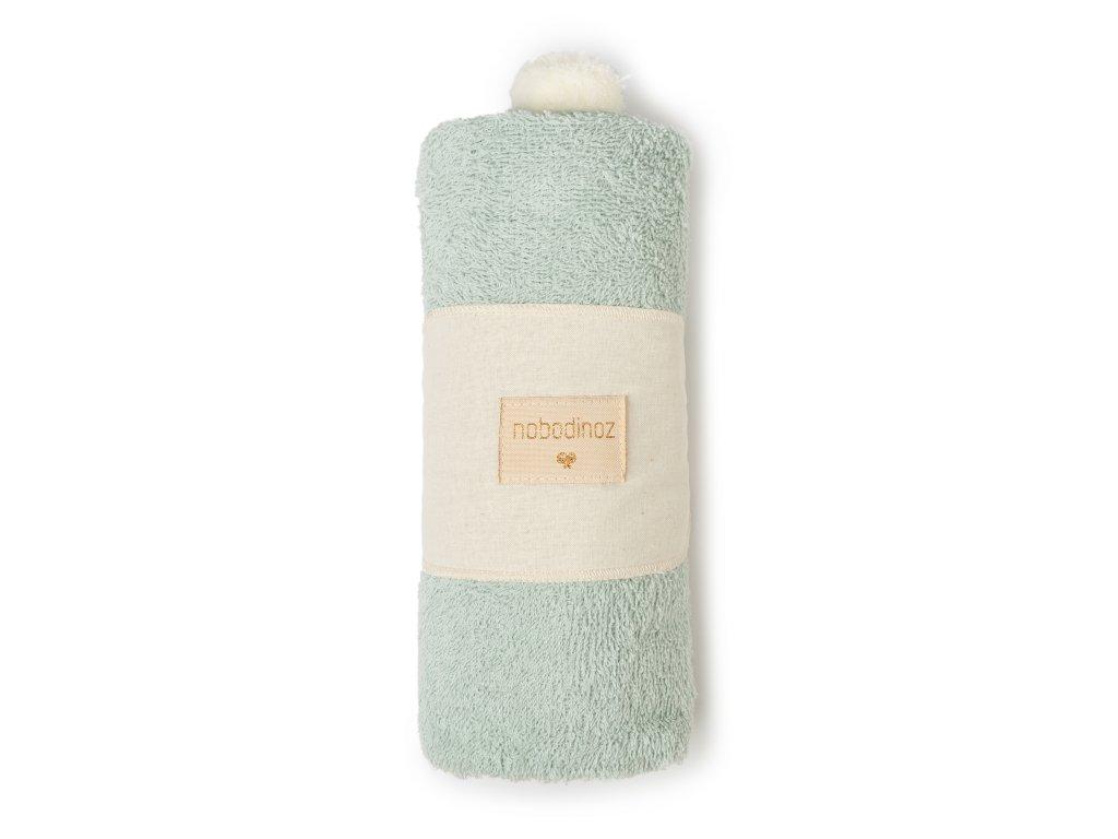 So cute baby bath cape green nobodinoz 4 2000000107806