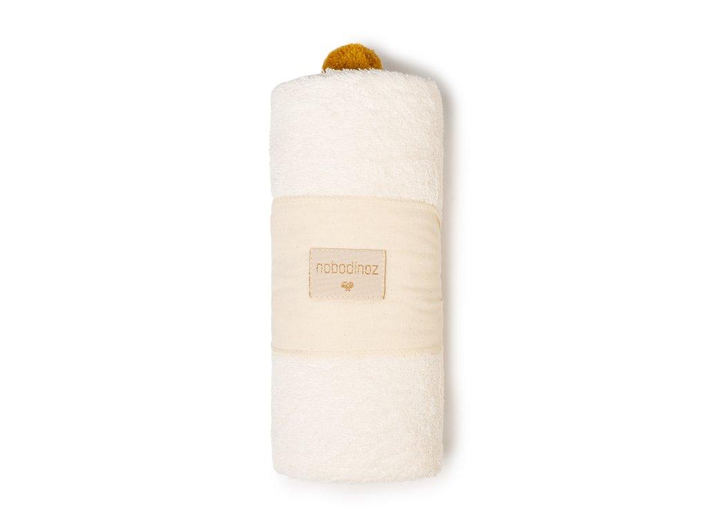 So cute baby bath cape natural nobodinoz 6 2000000107783