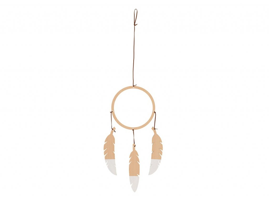 dream catcher white nobodinoz 1