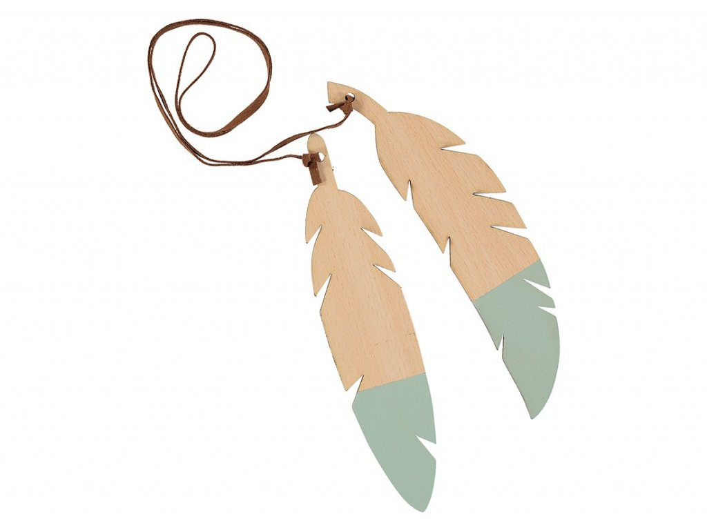 feathers duo green nobodinoz 1