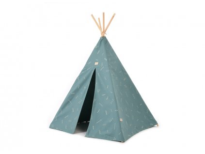 Phoenix teepee tipi gold secrets magic green nobodinoz 1