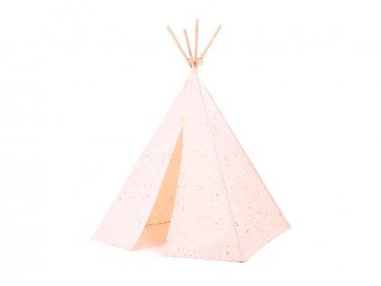 Phoenix teepee tipi gold stella dream pink nobodinoz 1