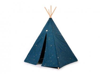 Phoenix teepee tipi gold stella night blue nobodinoz 1