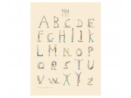 Yoga Alphabet plakát