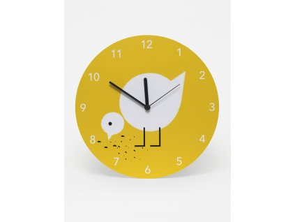 LAVMI clocks Juli yellow 91017