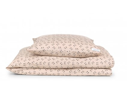 Carl Bedding Cat RoseBlush foldet