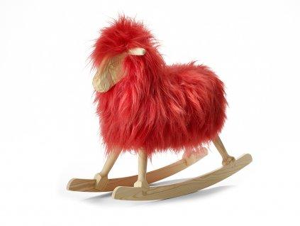 Pink long wool 110114