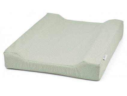 Fritz changing mat cover little dot dusty mint