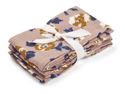Hannah muslin cloth print flower bomb