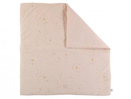 Colorado square playmat tapis de jeu carre alfombra de juego cuadrada gold stella dream pink nobodinoz 2