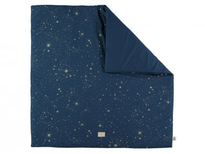 Colorado square playmat tapis de jeu carre alfombra de juego cuadrada gold stella night blue nobodinoz 2