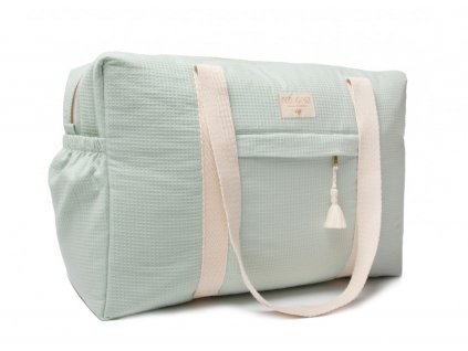 opera waterproof maternity bag aqua nobodinoz