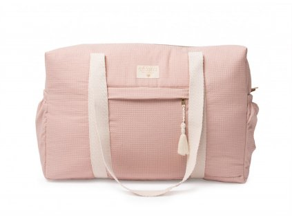 opera waterproof maternity bag misty pink nobodinoz