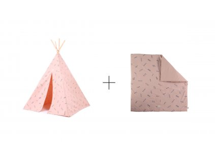 sada teepee + colorado blue secrets misty pink