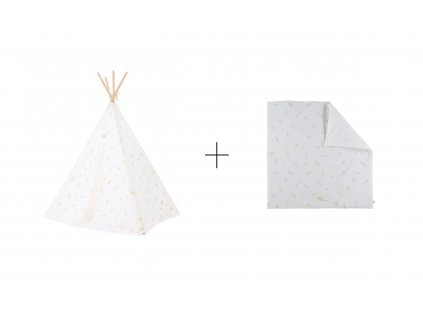 sada teepee + colorado gold secrets white