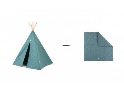 sada teepee + colorado Gold secrets magic green