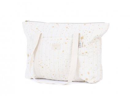 Paris maternity bag sac de maternite bolsa de maternidad gold stella natural nobodinoz 1