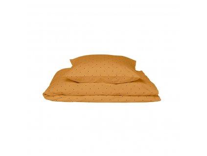 Baby Bedding LW12345 0043 Classic dot mustard 1