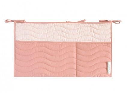crib organizer sevilla dolce vita pink nobodinoz 1