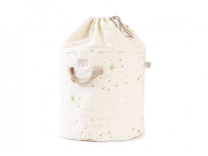 bamboo toy bag sac a jouet guarda juguetes gold stella natural nobodinoz 1 2000000101088