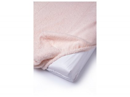 nobodinoz changing mat and cover pink