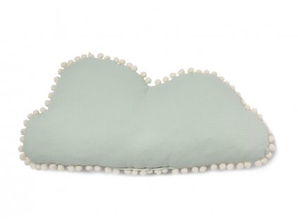 Marshmallow cloud cushion aqua nobodinoz cojin nube verde coussin nuage vert nobodinoz 2000000107431