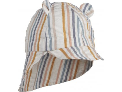 GORM SUN HAT MULTI STRIPE MIX