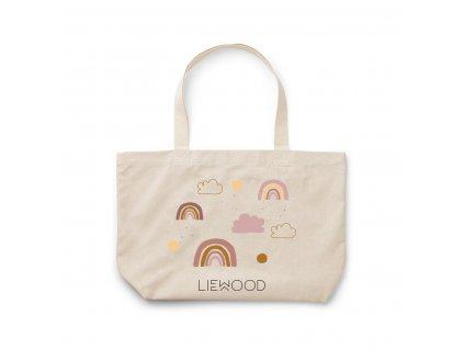 Tote Bag Big Bag LW12632 5070 Rainbow love sandy