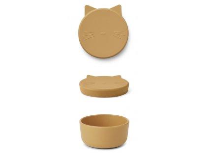 CORNELIUS SNACK BOX CAT YELLOW MELLOW STACK