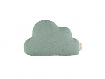 cloud cushion cojin coussin toffee sweet dots eden green nobodinoz 1
